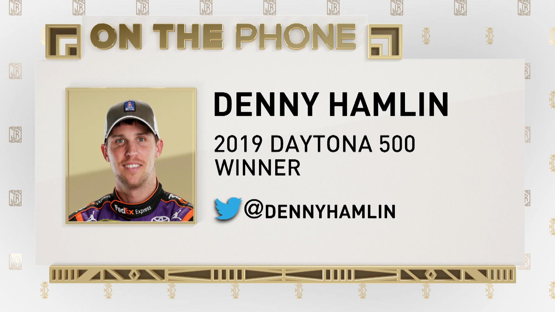 The Jim Rome Show Denny Hamlin talks winning 2019 Daytona 1920x1080