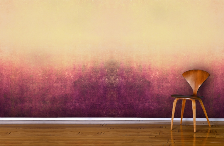 Red Painted Mist Wallpaper Wall Mural MuralsWallpapercouk 764x500