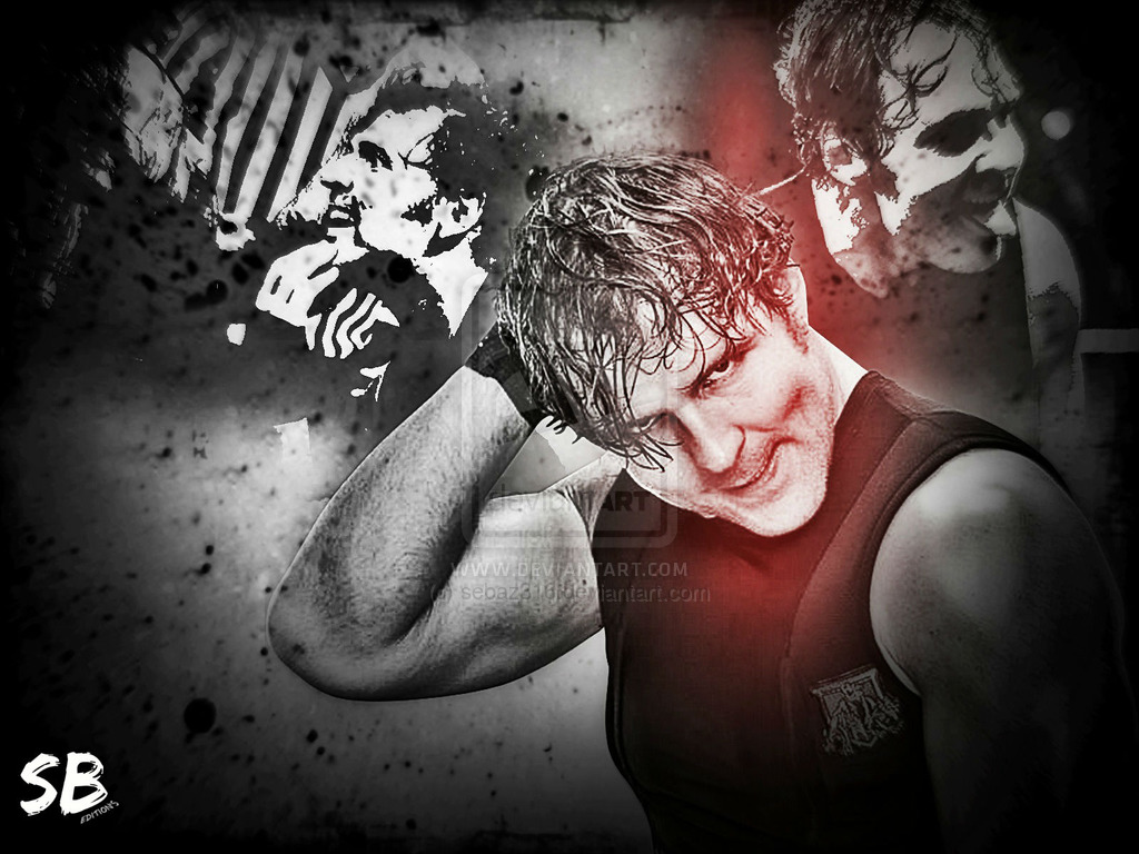 Dean ambrose wallpaper 2014 by sebaz316 1024x768