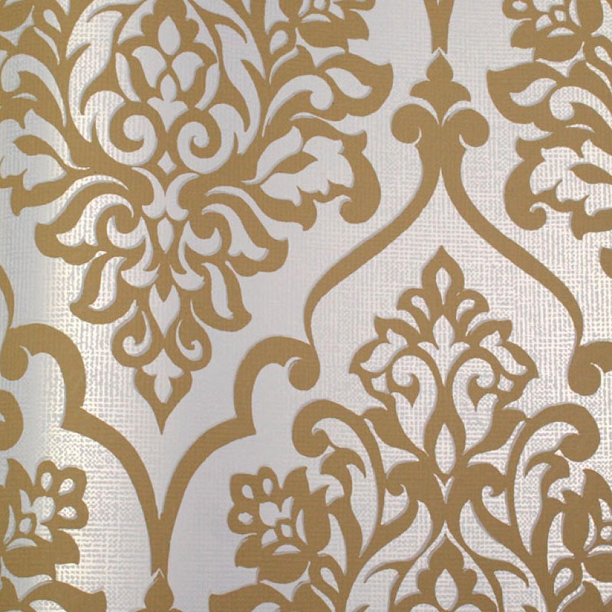 Metallic Gold and White Wallpaper - WallpaperSafari