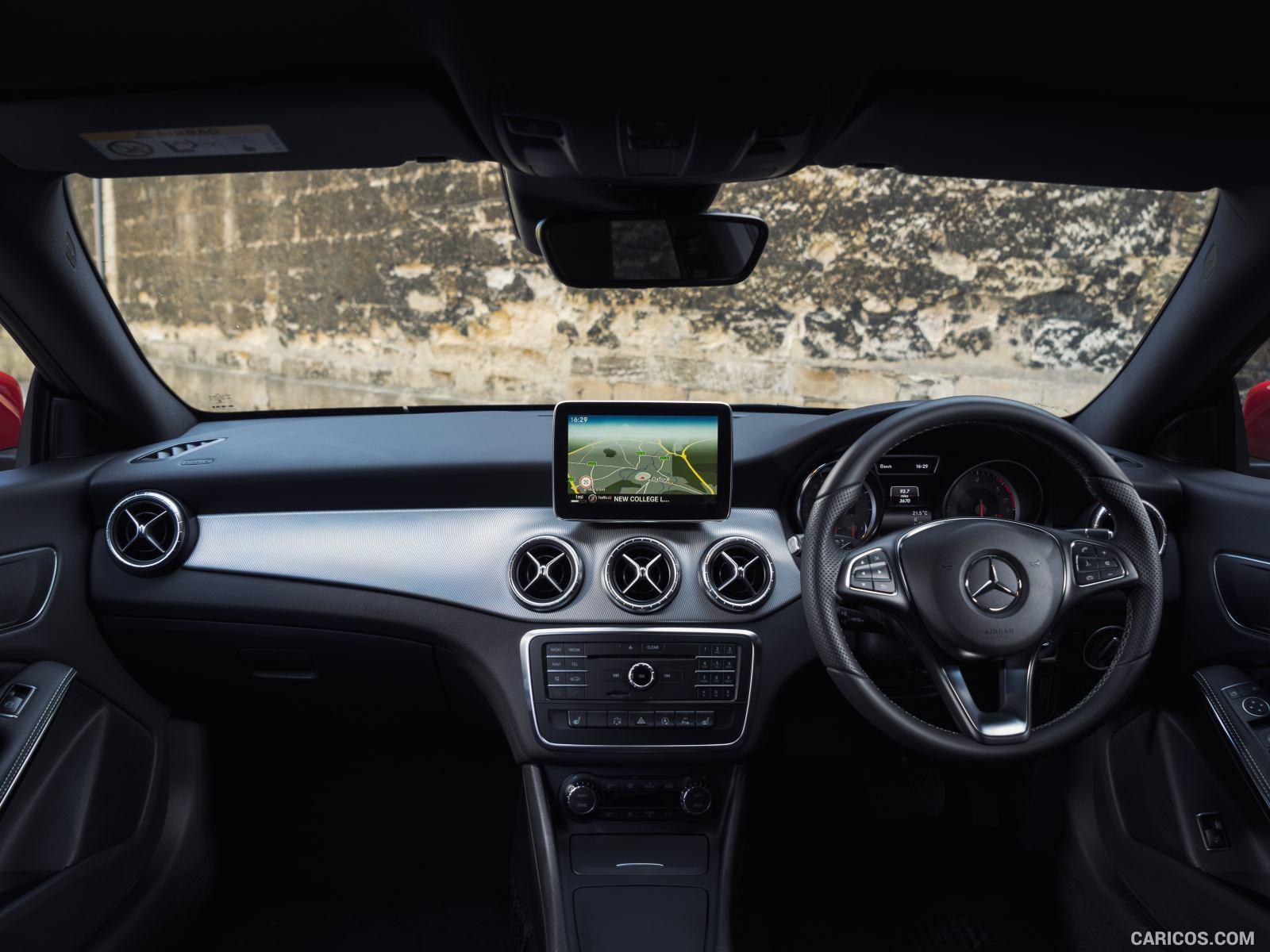 2015 Mercedes Benz CLA 200 CDI Shooting Brake UK Spec   Interior 1600x1200