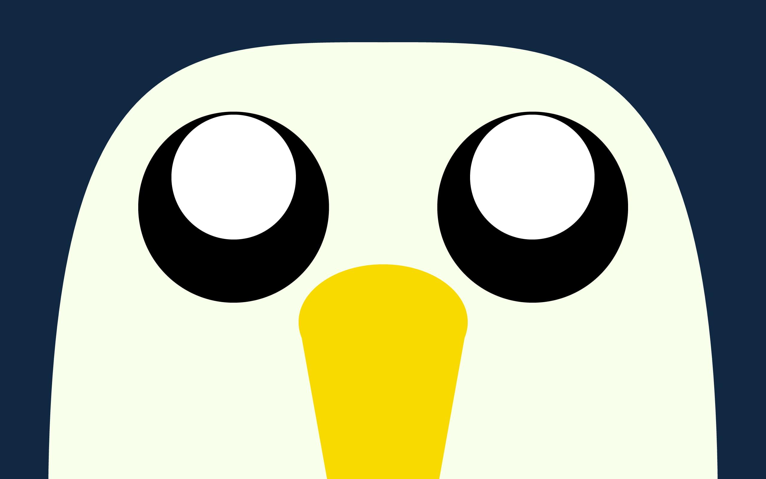 Penguin logo Adventure Time Gunter HD wallpaper Wallpaper Flare 2560x1600