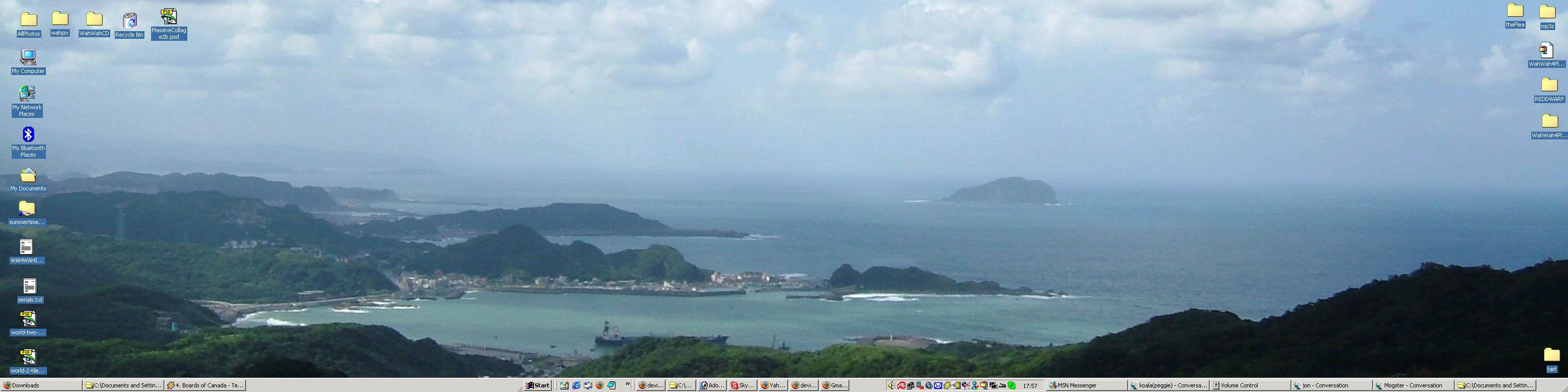 triple monitor wallpaper by gazy customization desktop screenshots 3072x768