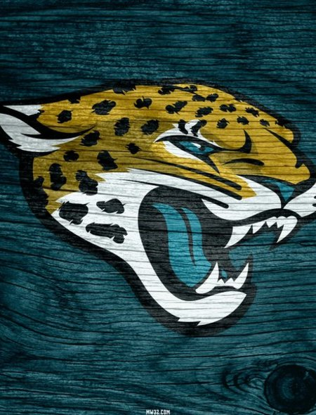 Jacksonville Jaguars Blue Weathered Wood Wallpaper for Amazon Kindle 450x590