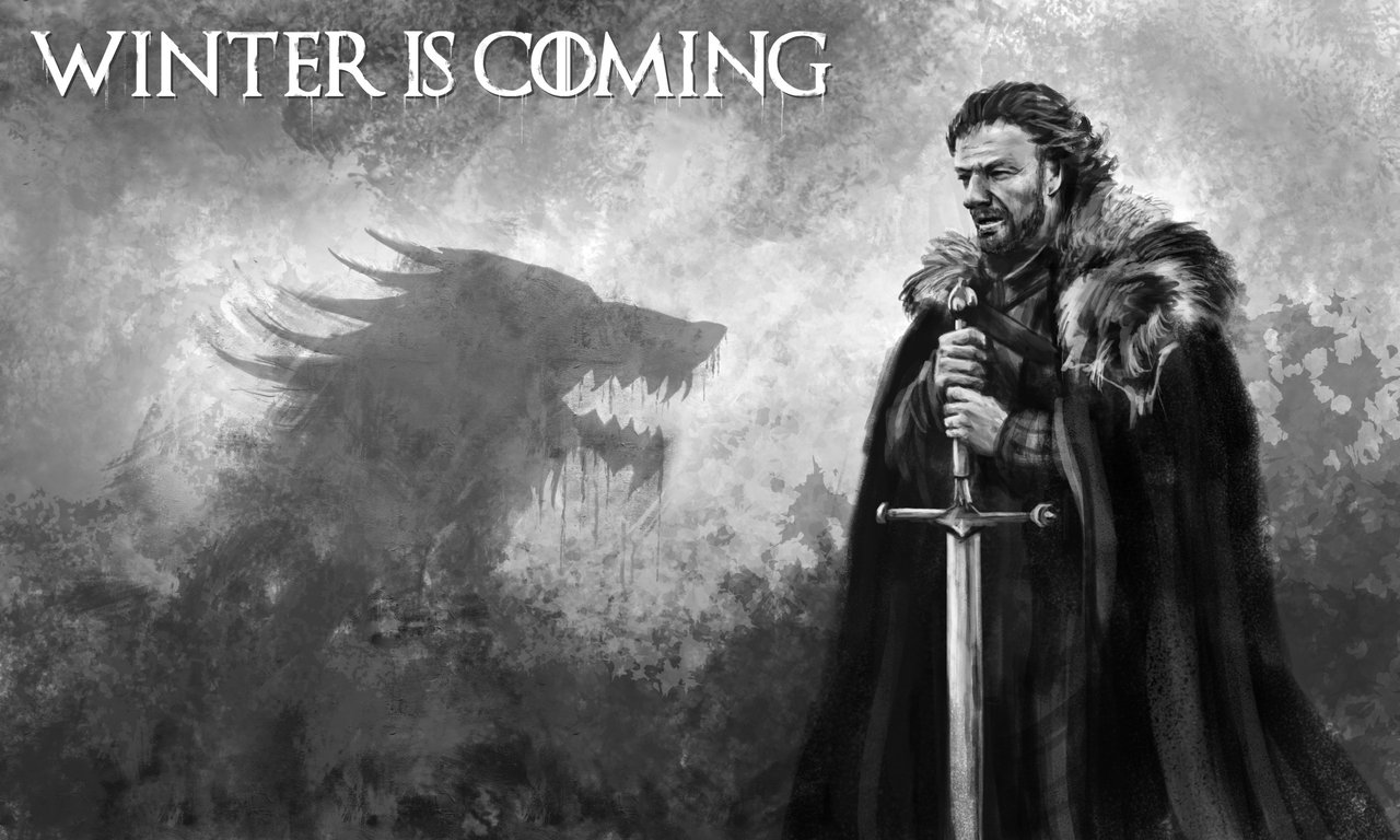 Winter Is Coming - Eddard Stark by FrostwindHD on DeviantArt