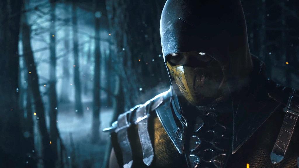 Mortal Kombat X Scorpion 1080p by Sakis25 1024x576