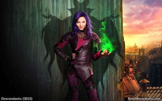 Disney Descendants 2015 wallpapers by BestMovieWalls 563x352
