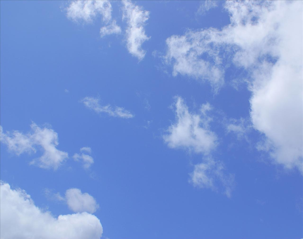 Home Blue Sky and Clouds 1280x1007