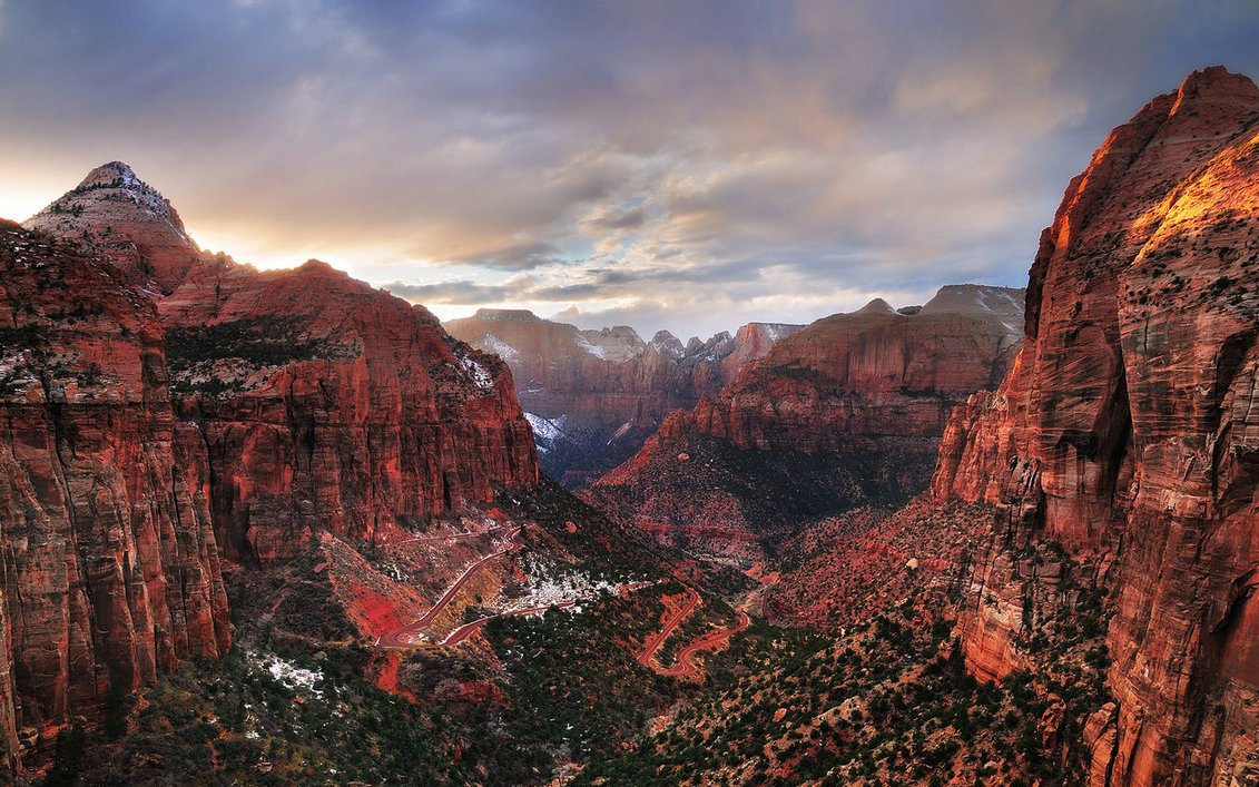 Zion national park wallpaper Wallpaper Wide HD 1131x707