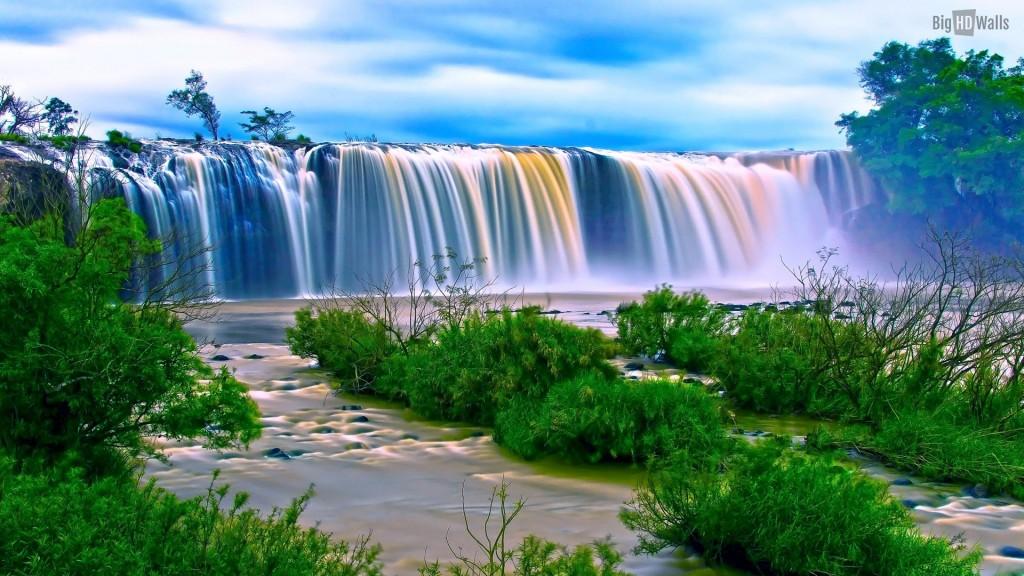 Dray Nur waterfall Vietnamhd walls 1024x576