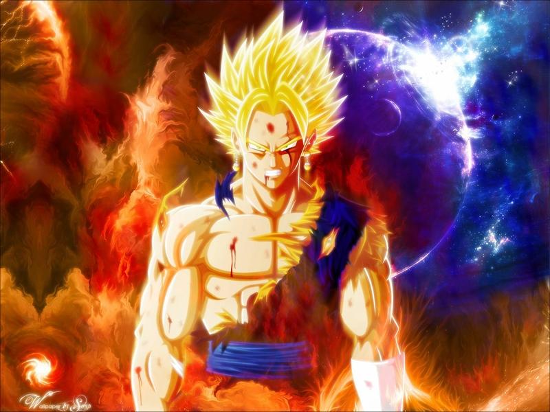 Free Download Son Goku Vegeto Dragon Ball 1280x960 Wallpaper Anime