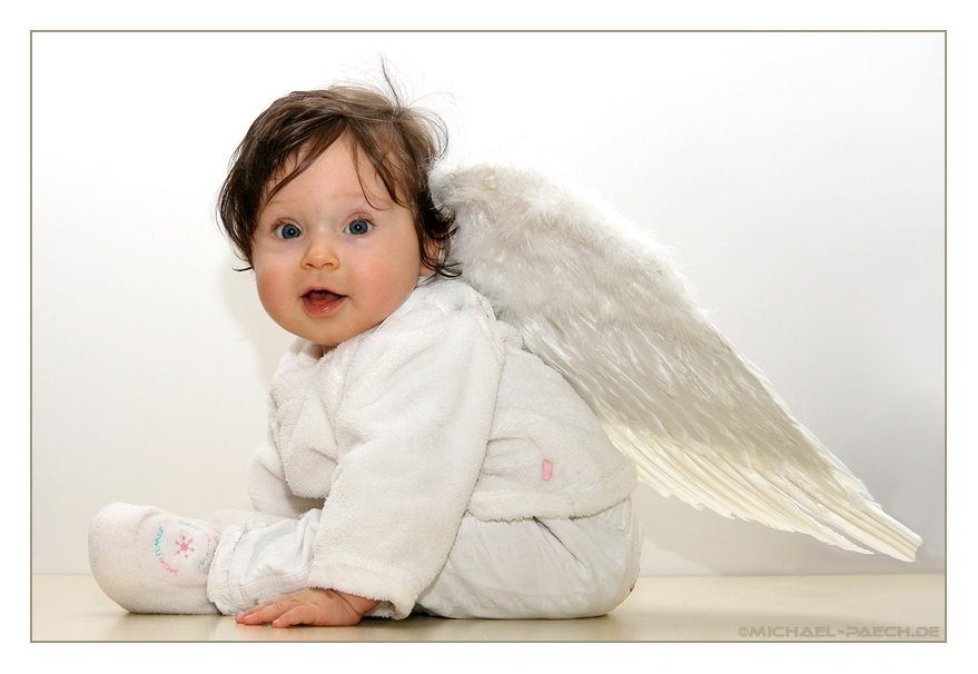 Cute Baby Fantasy Angel 879x606