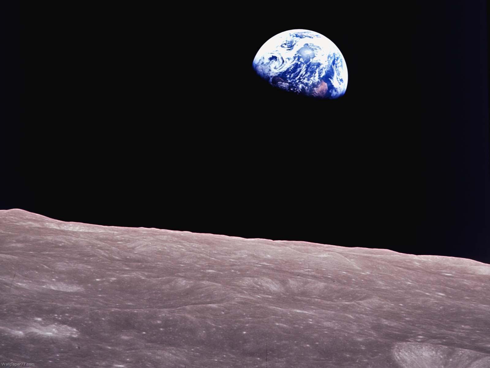 Earth From Moon Wallpaper Hd Moon 2436 hd w 1600x1200