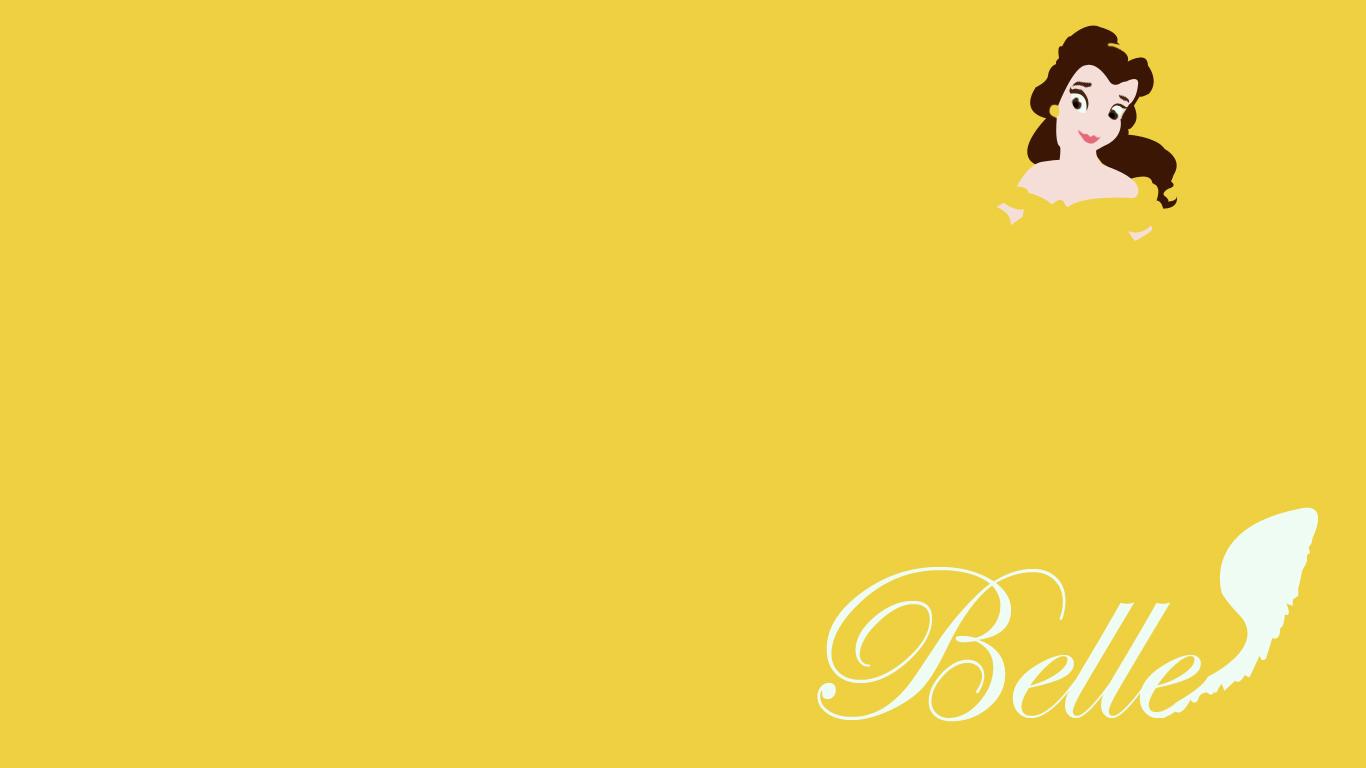 belle minimalist by themagicfruit customization wallpaper minimalistic 1366x768