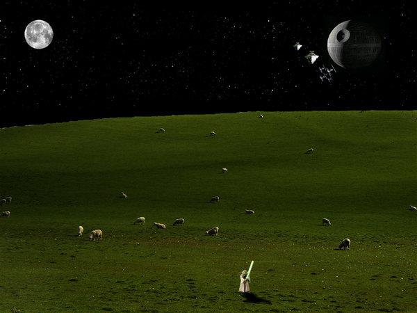 Star Wars Desktop Wallpaper by Dantwz 600x450
