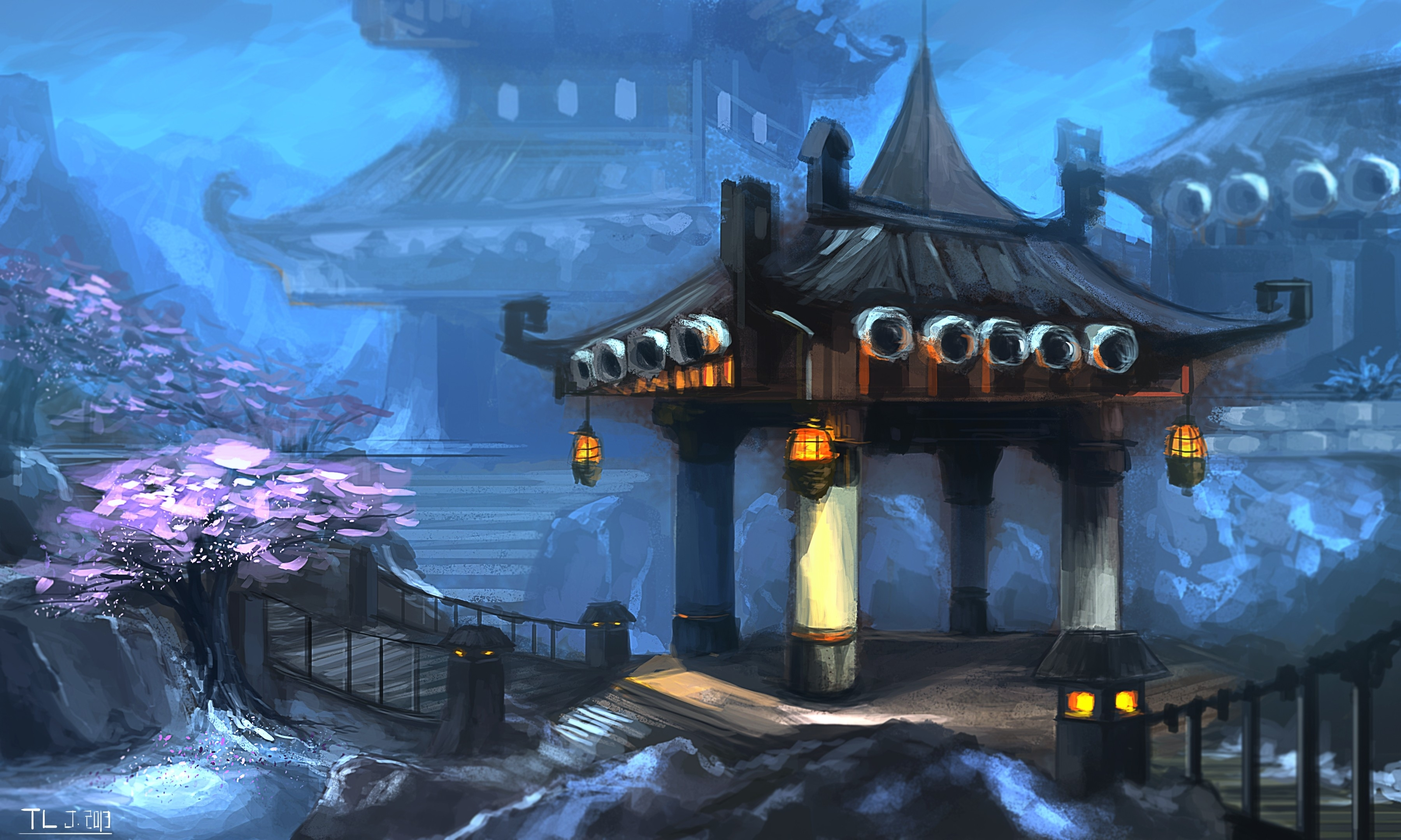 Download Wallpapers Download 3600x2160 landscapes world of warcraft 3600x2160
