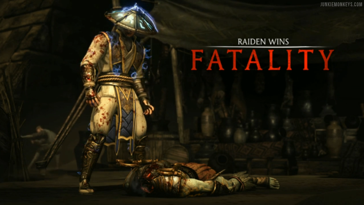 Mortal Kombat X Raiden Wallpaper Revealed Junkie Monkeys 1270x715