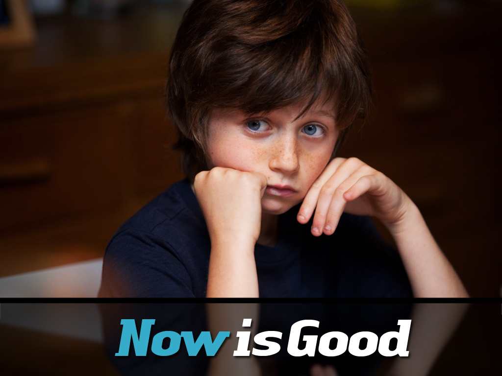 Now Is Good Wallpaper   Original size download now 1024x768