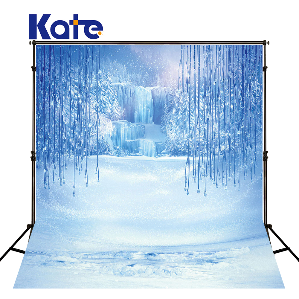 Kate 10x20ft Custom Made Sparking Backdrops Winter Snow 1000x1000