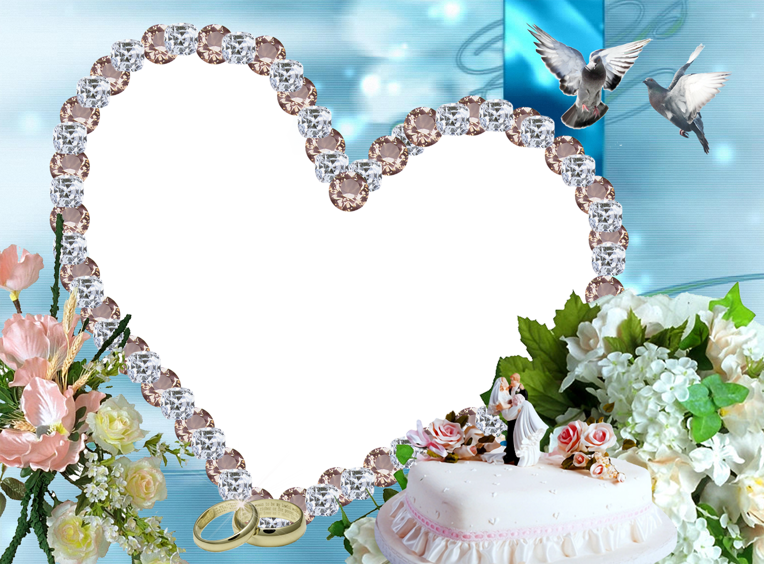 Picture Frame Love Wallpaper: Picture Frame Wallpaper
