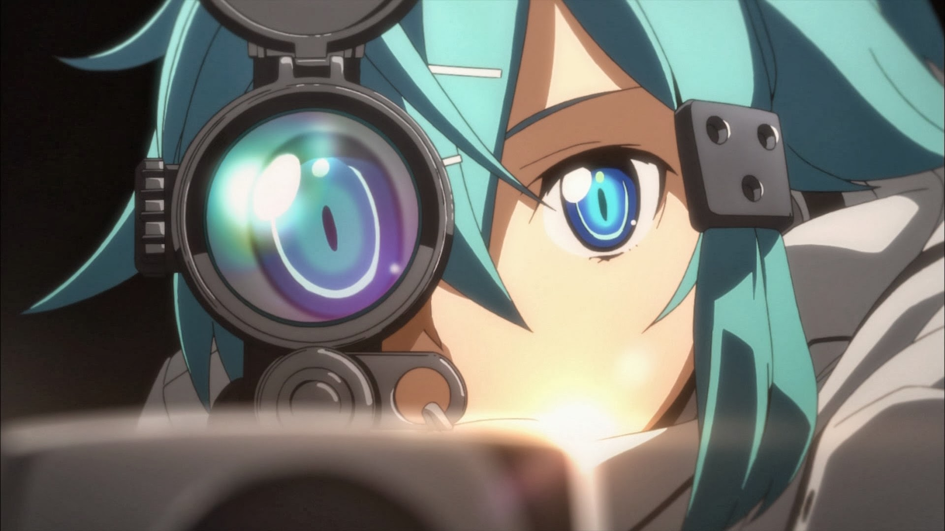 SAO 2 Gun Gale Online Sinon 6o Wallpaper HD 1920x1080