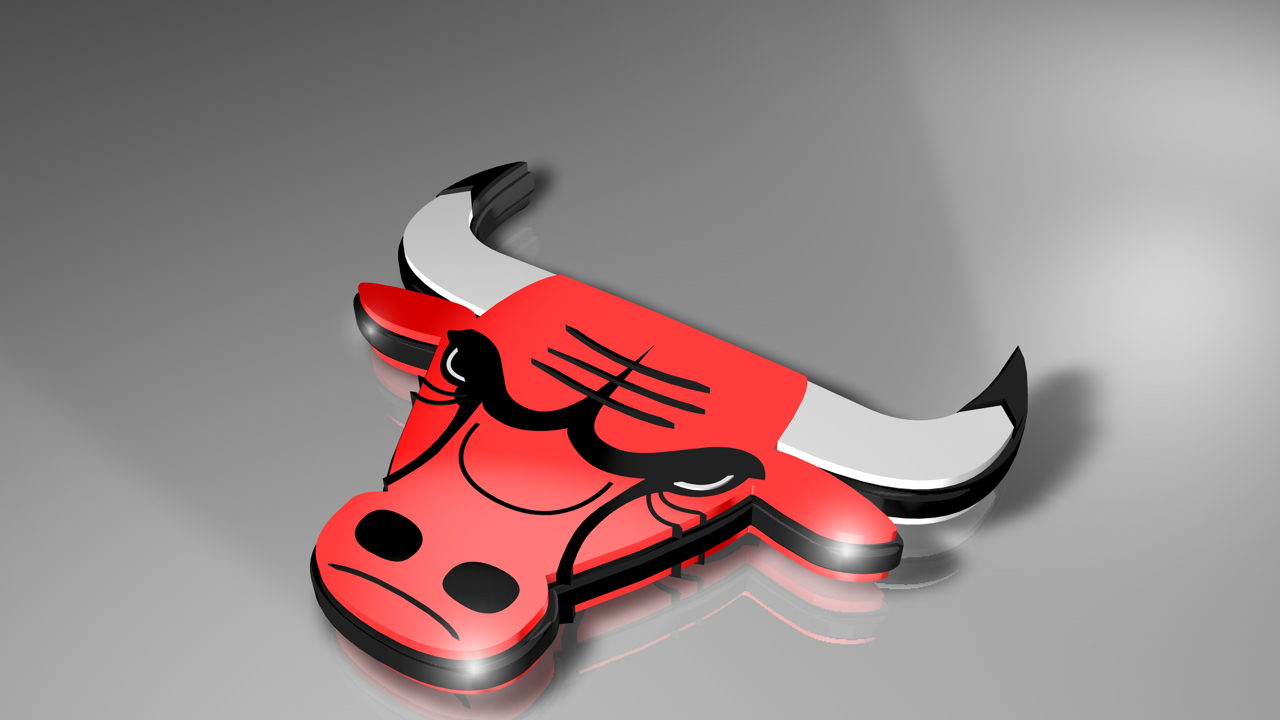 3D Chicago Bulls Wallpaper PC Wallpaper WallpaperLepi 1280x720