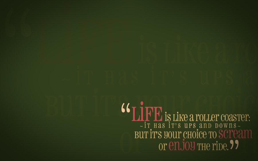 Life Quotes Wallpaper Wallpapersafari