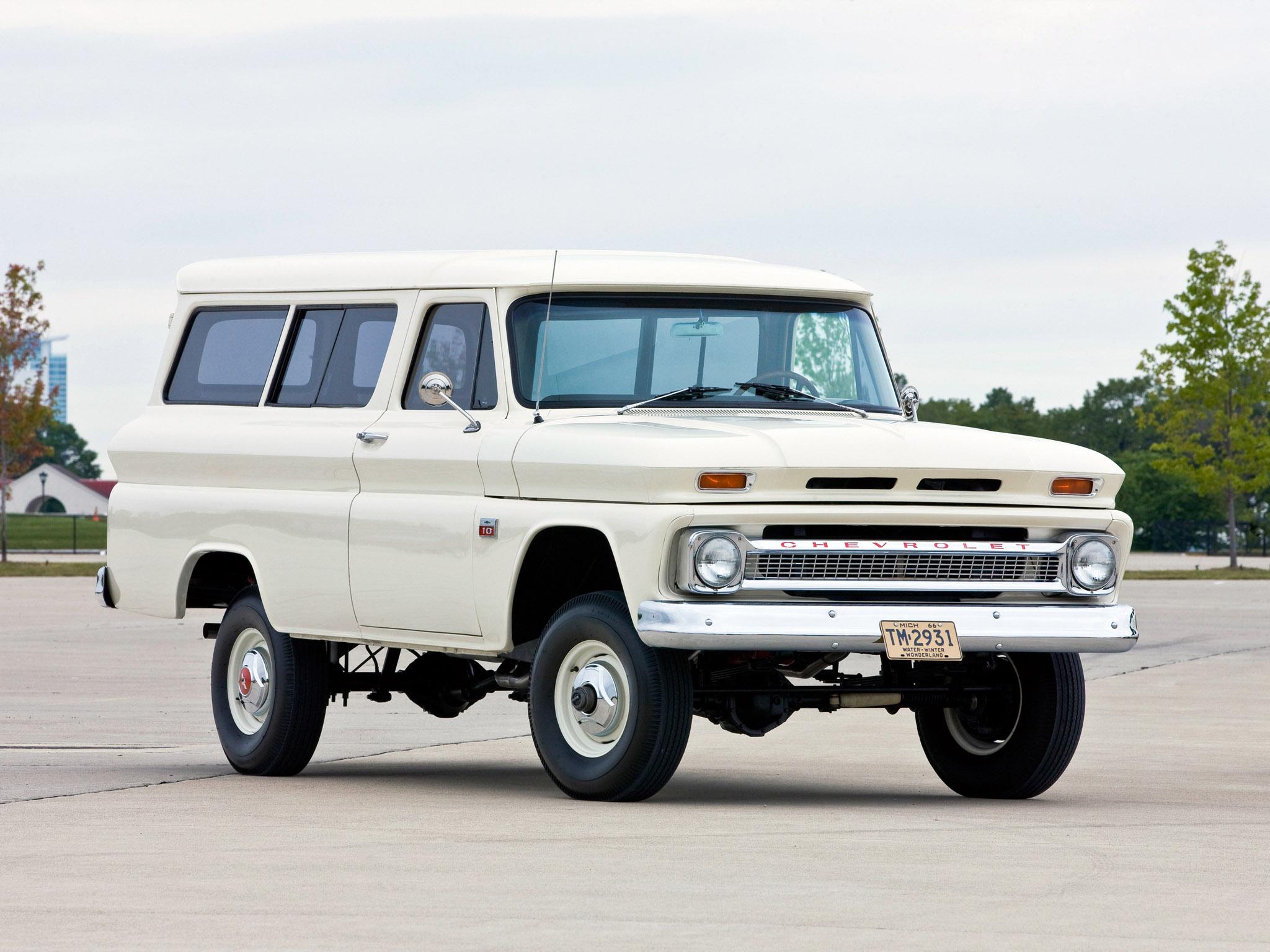 1965 Chevrolet Suburban 4x4 truck classic wallpaper 2048x1536 2048x1536