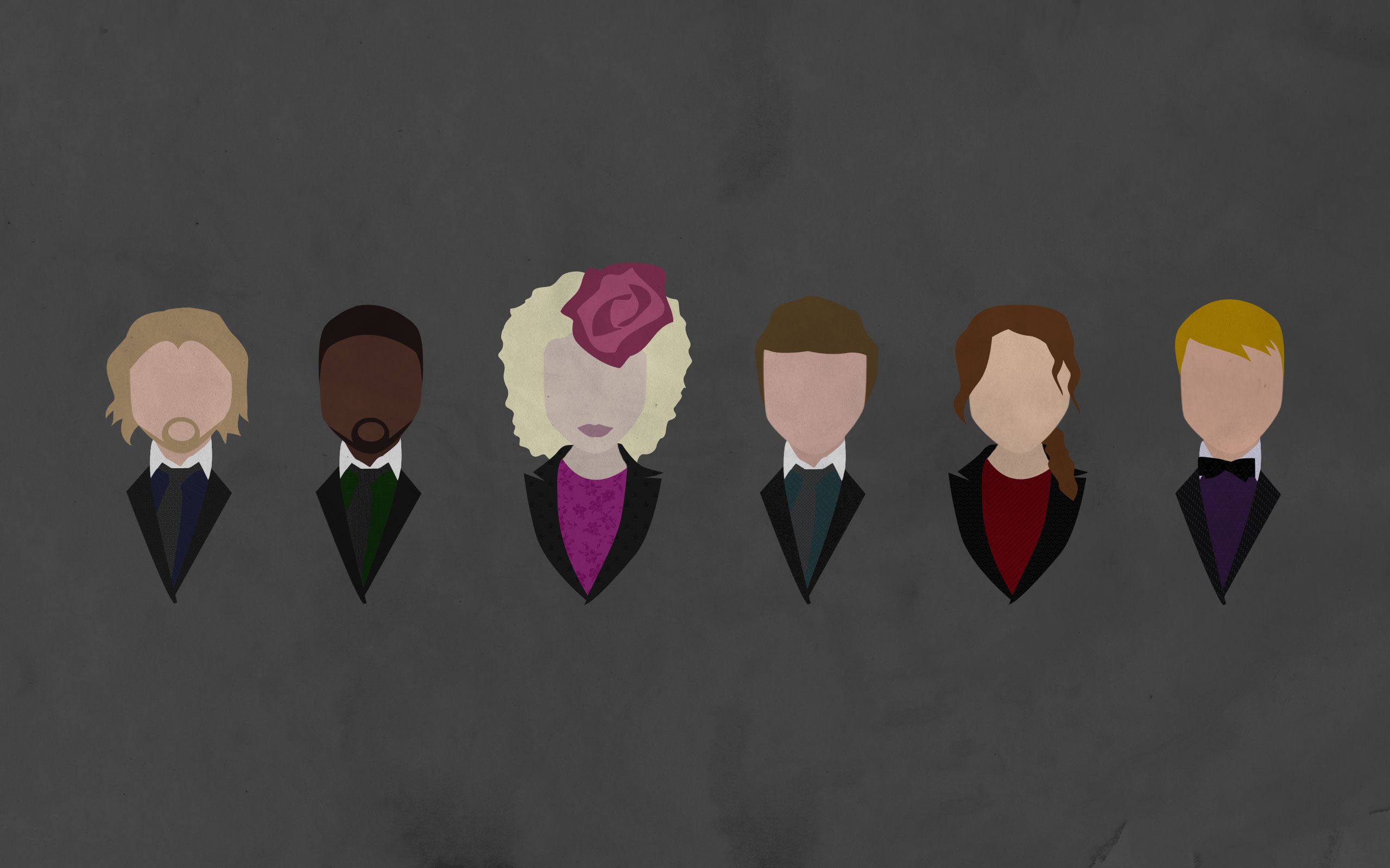 Hunger games computer wallpaper hd wallpapers blog the hunger games minimalistic wallpaper voltagebd Image collections
