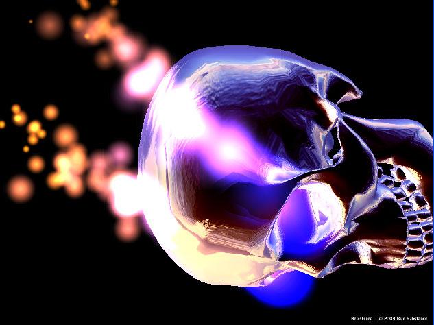 Skull 3d Wallpaper: 3D Moving Skull Wallpaper