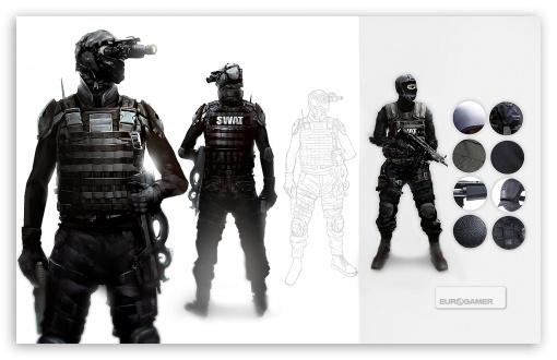 Beyond Two Souls SWAT HD wallpaper for Wide 1610 53 Widescreen 510x330