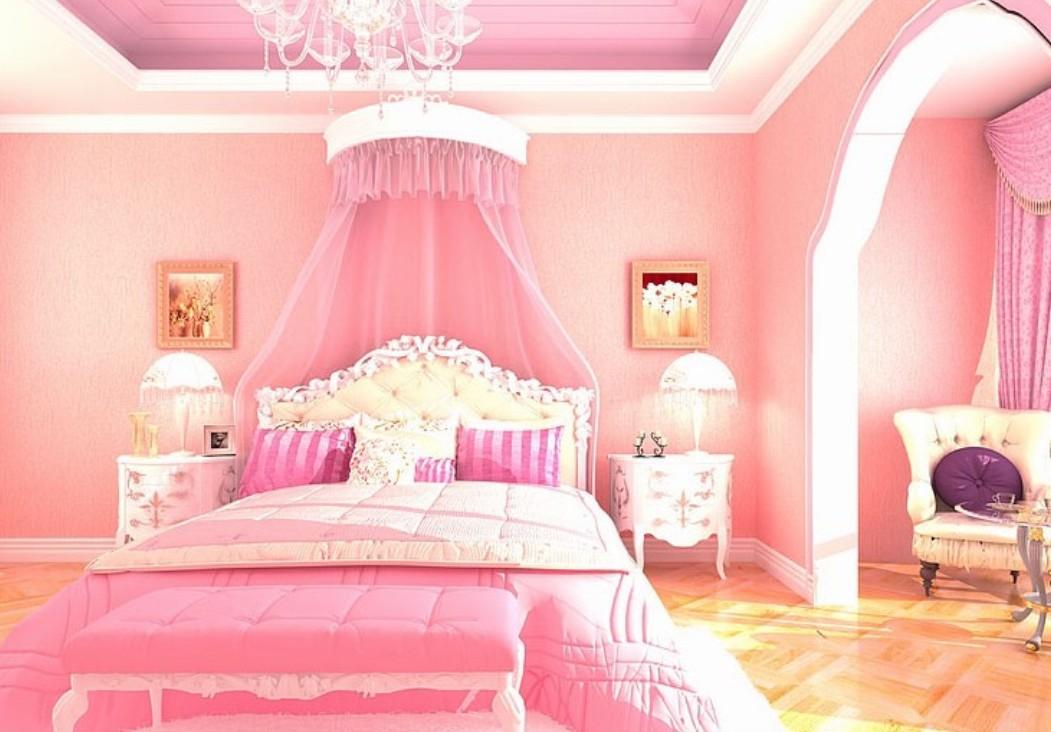 47+ Pink Bedroom Wallpaper on WallpaperSafari