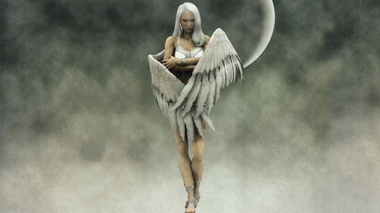 FREE ANGELS LIVE WALLPAPER HD   screenshot 1280x720