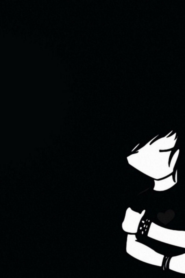download emo cartoon wallpaper iphone wallpapers and backgrounds Car 640x960