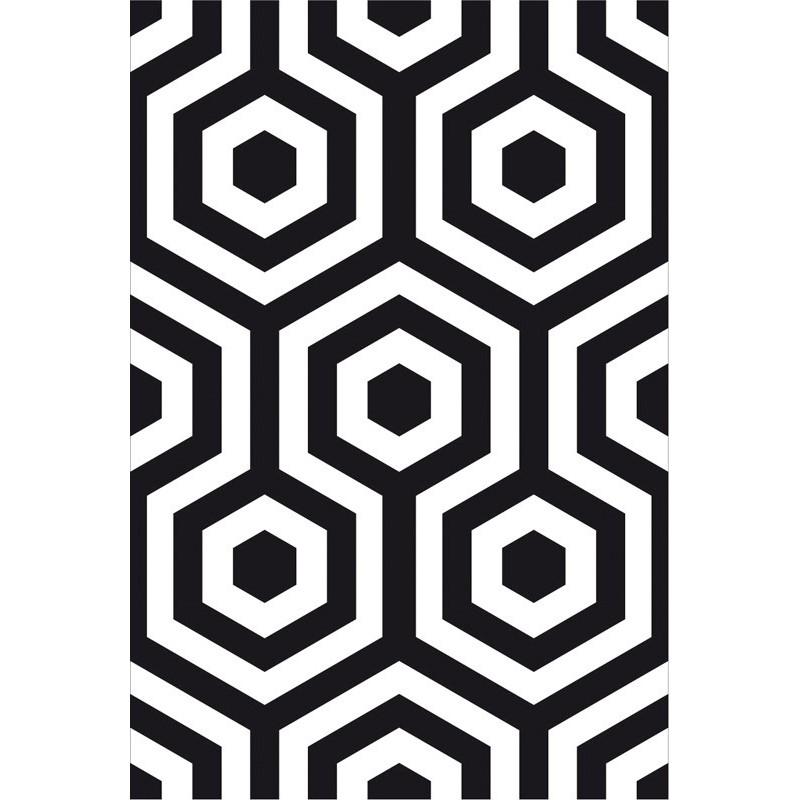 Hexagono Wallpaper Black Wallpaper Buy Wallpaper Direct Online 800x800
