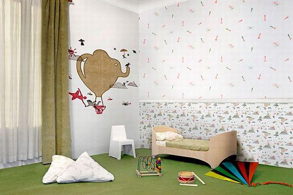 Wallpaper For Kids Room Wallpapersafari