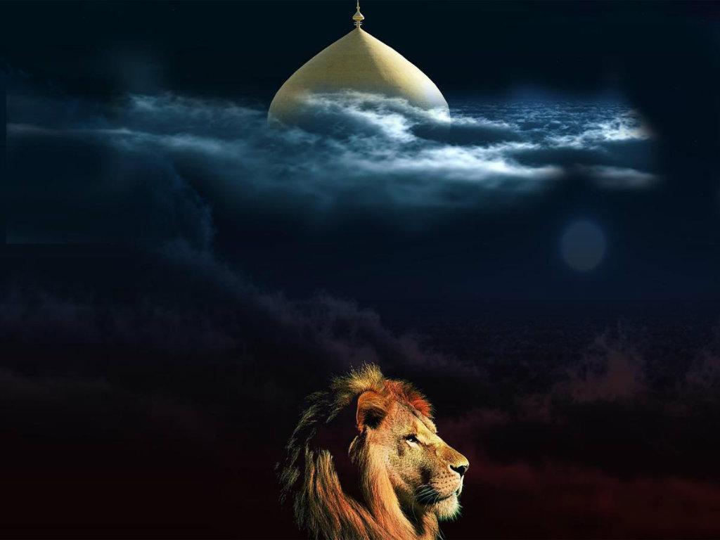 Imam Ali as Shrine Night Photo Live HD Wallpaper HQ Pictures 1024x768
