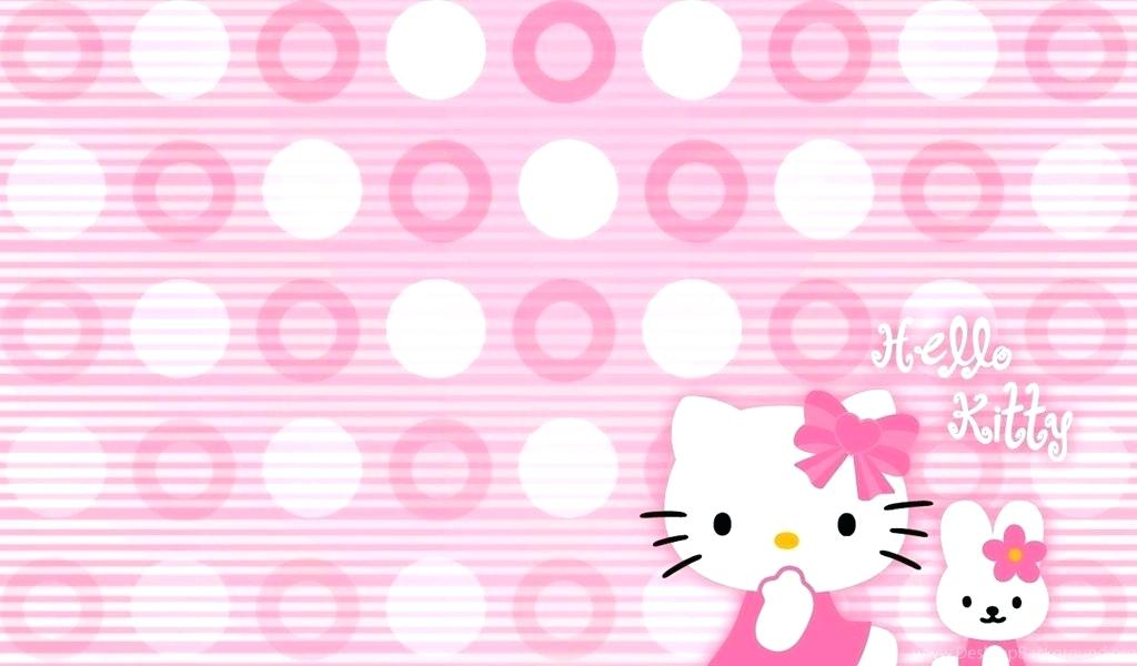 Hello   Hello Kitty Wallpaper Desktop 107603   HD Wallpaper 1024x600