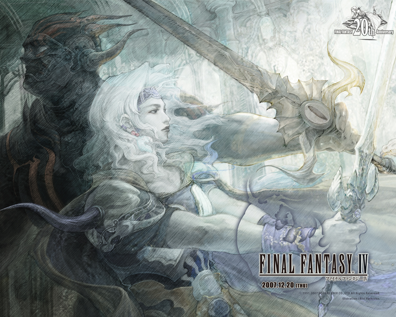 Final Fantasy IV game pictures Best Games Wallpapers 1280x1024