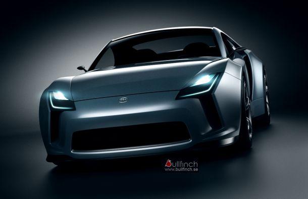 Toyota Supra 2012 Concept Car Design Created By Digital Artist Emre 610x394