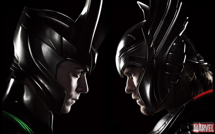 Thor And Loki Wallpaper by AryaAter 900x563