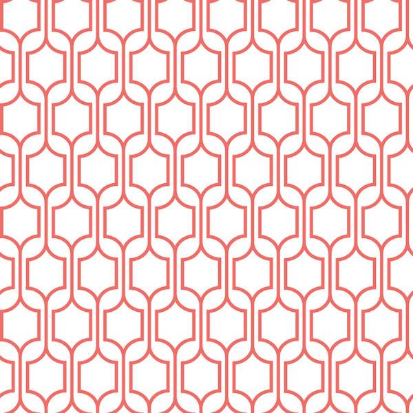 Pink Trellis Wallpaper   Wall Sticker Outlet 600x600