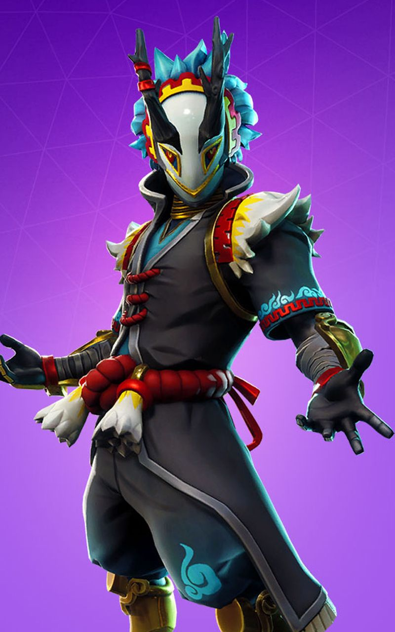 Fortnite Battle Royale Wallpaper Skin TARO Fortnite Battle 800x1280