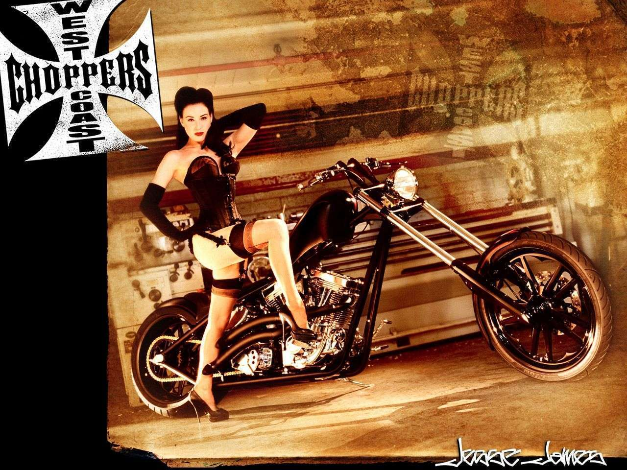 West Coast Choppers Wallpaper WallpaperSafari