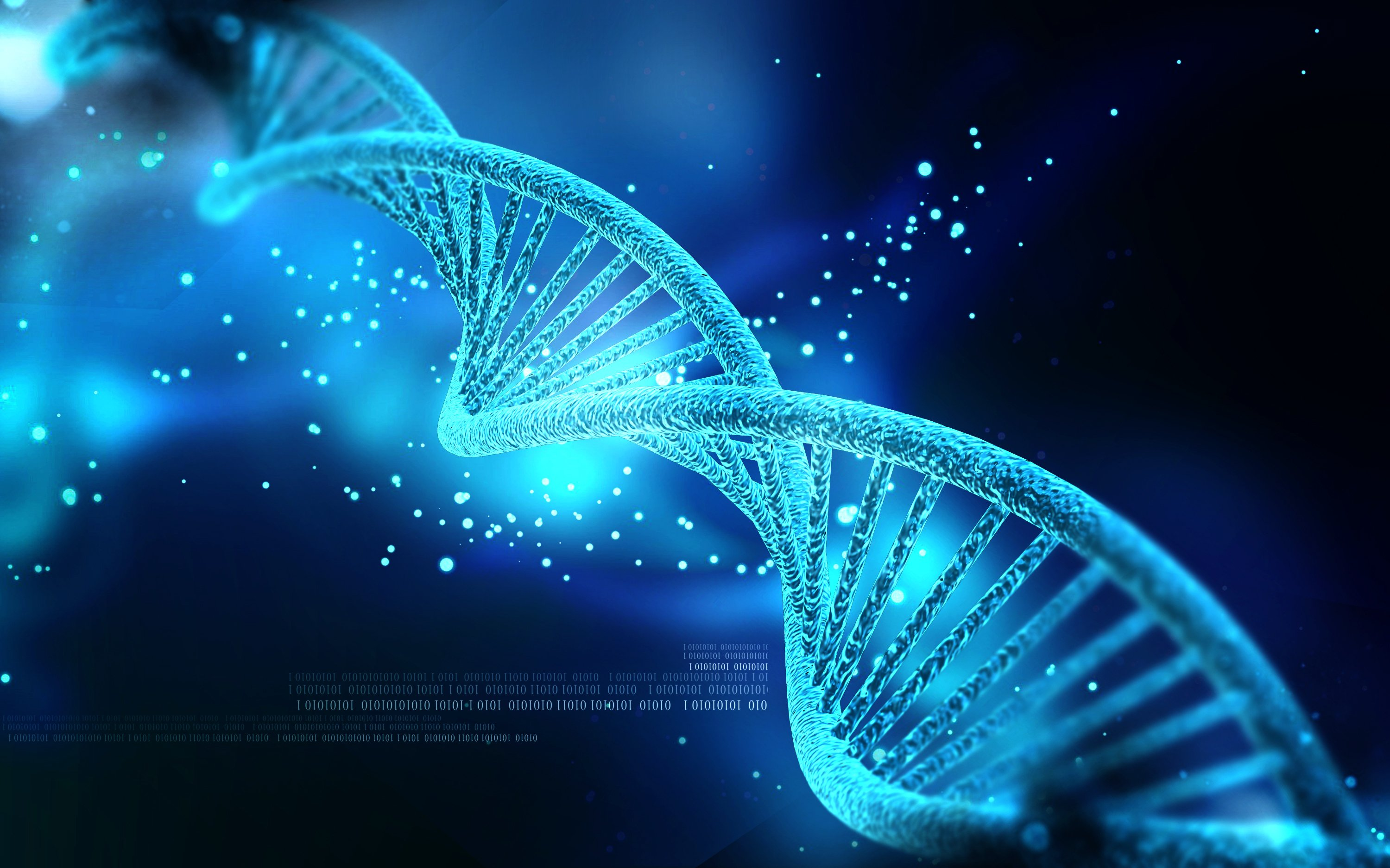 dna 3 d Structure Molecule Pattern Abstraction Genetic 3000x1875