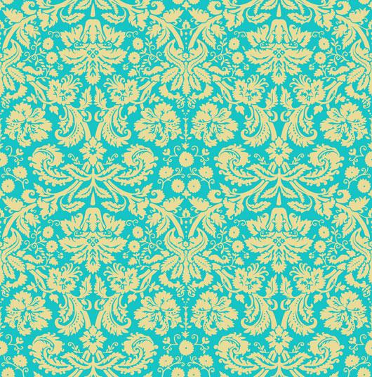 ornate wallpaper pattern 530x536