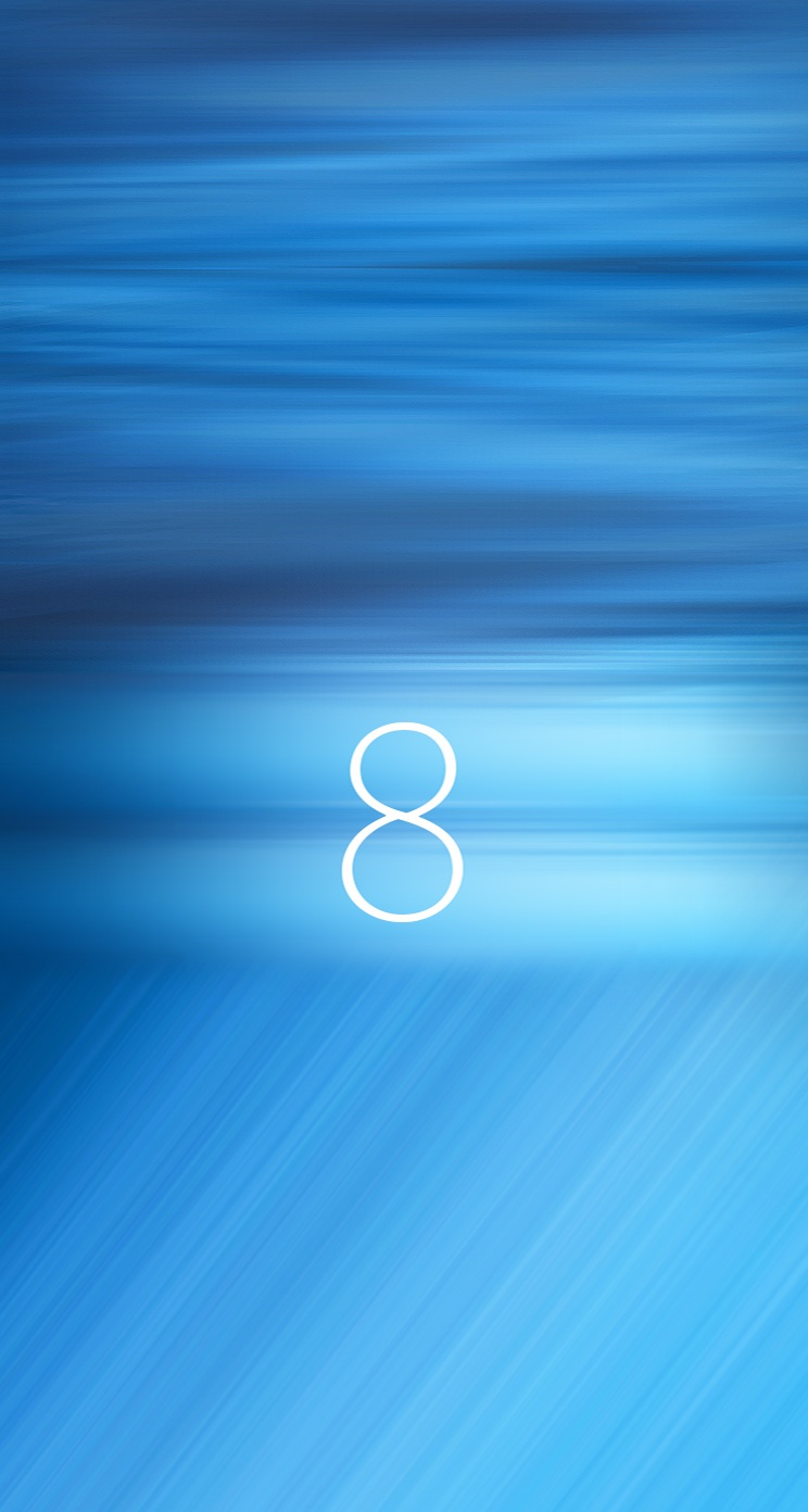iOS 8 and OS X wallpapers 744x1392
