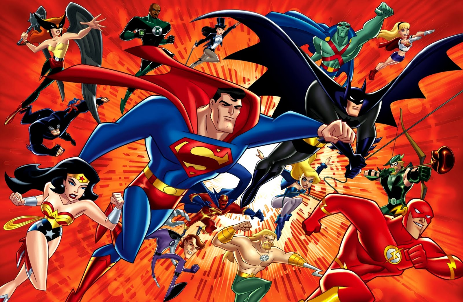 DC Comics All Characters HD Desktop Wallpapers Cartoon 1600x1044