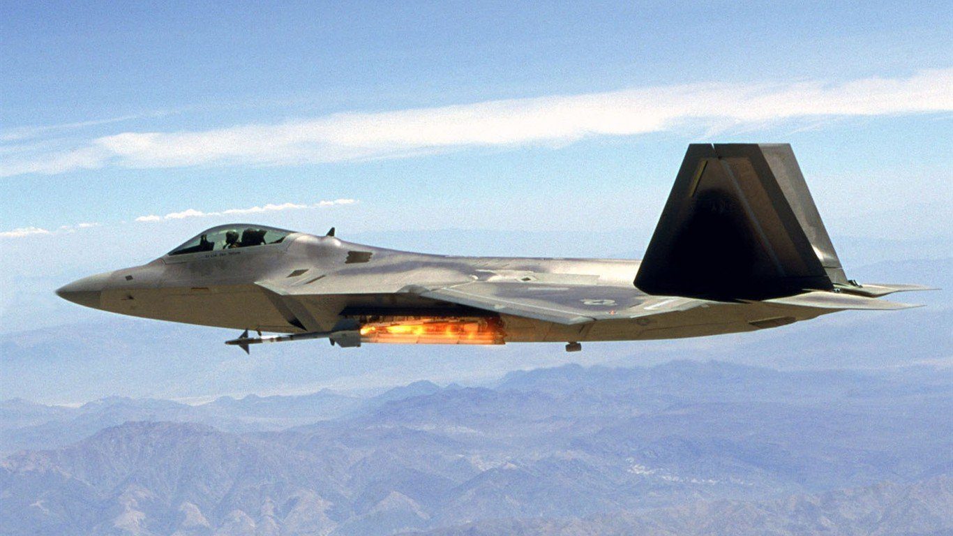F 22 Raptor Wallpaper HD - WallpaperSafari
