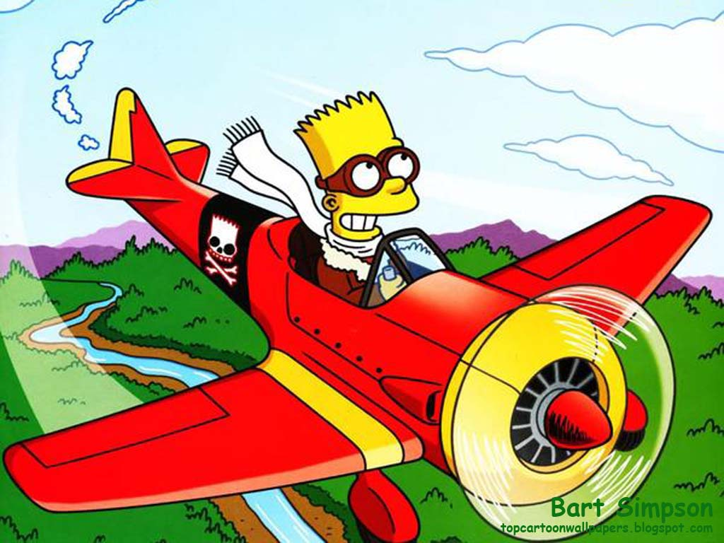 Top Cartoon Wallpapers Bart Simpson Best Wallpaper 1024x768